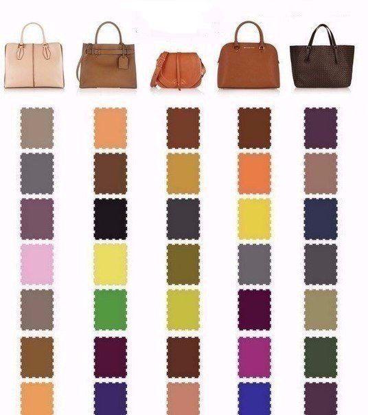 Цвет туфель, которые подойдут под цвет вашей сумочки