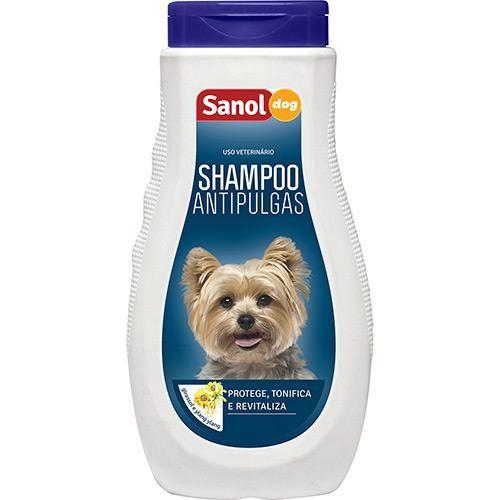 Shampoo p/ Cães Sanol Antipulgas 500ml - Sanol