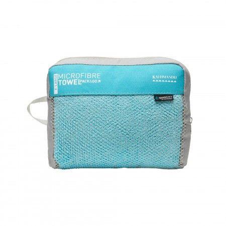 Microfibre Towel Pouch v2 - Sky Blue