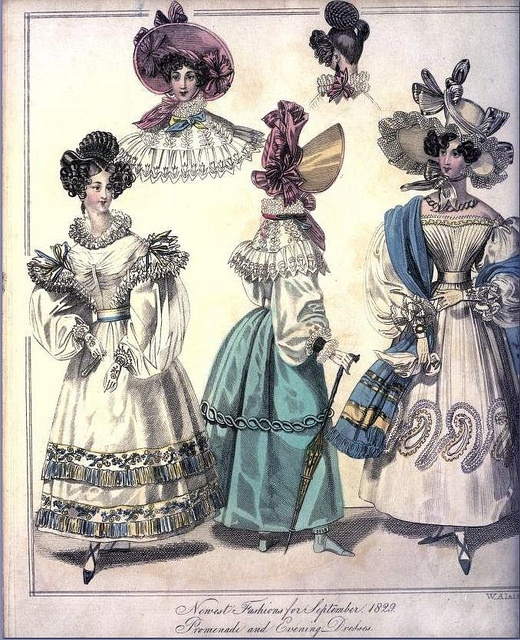The World of Fashion and Continental Feuilletons 1829 Plate 35