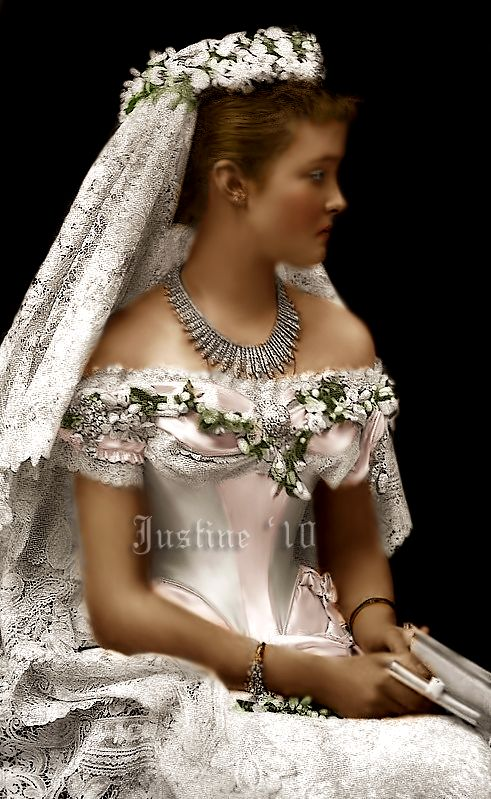 Best 25 royal dresses ideas on pinterest rose dress rose louise margaret of prussia duchess of connaught on her wedding day fandeluxe Ebook collections
