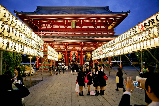 Asakusa, Tokyo - I spent a lot of time here with friends over the 10 years I traveled to Tokyo. Fascinating place.