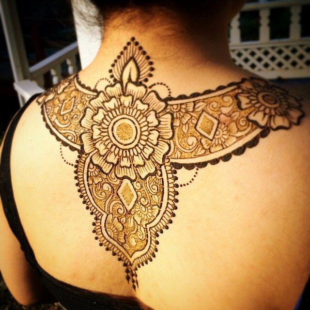 Henna Tattoo Kits Ireland: 180 Best Back, Shoulder & Side Inspirations Images On