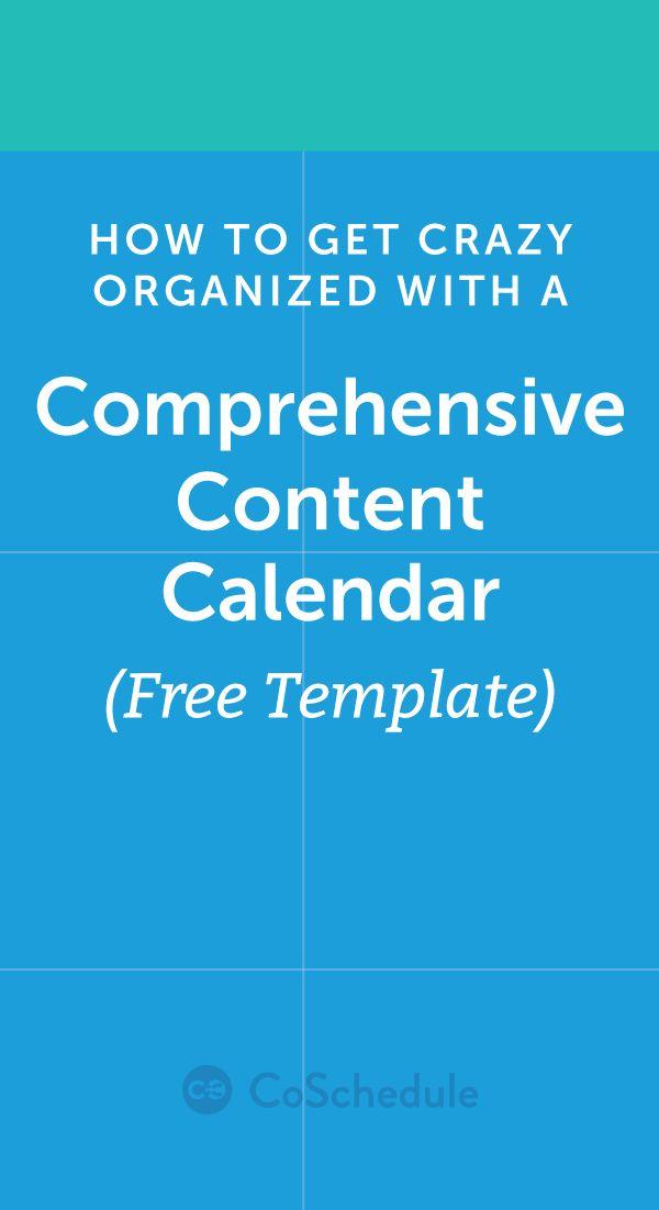 17 beste ideer om Social Media Calendar Template på Pinterest - editorial calendar template