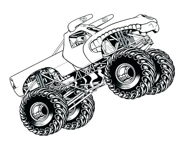 Printable Truck Coloring Pages Monster Truck Coloring Pages Truck Coloring Pages Coloring Pages