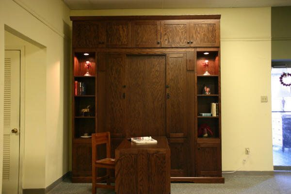 Craftsman Murphy Bed w/Hidden Desk (can you find it?) - by Chris Davis @ LumberJocks.com ~ woodworking community