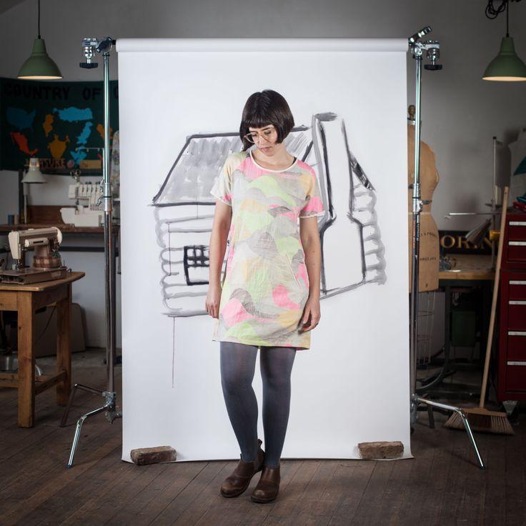 Blueprints for Sewing Cabin Shirt & Shift Dress Digital PDF Sewing Pattern