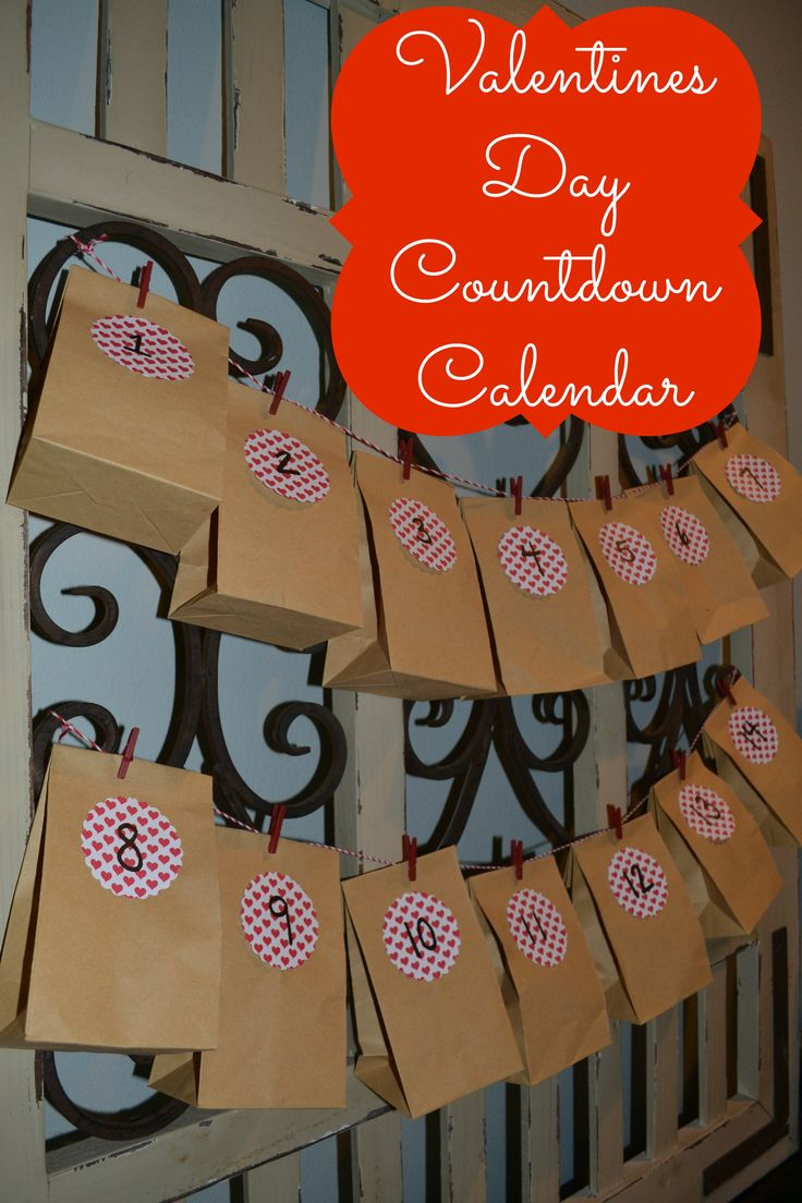Valentineu0027s Day Countdown Calendar. Great Valentines Day IdeasBe ...