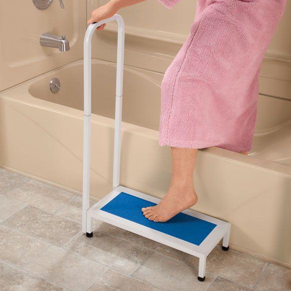 Bath Safety Step - Bath Step Stool - Shower Step Stool