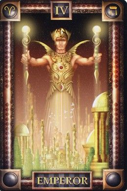 Emperor from the Tarot of Dreams (Mass Market Edition)