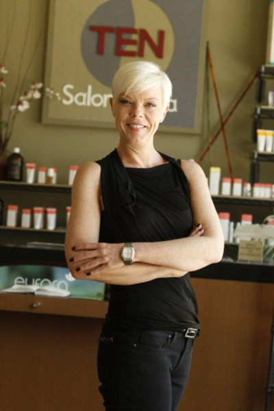 Tabatha Coffey- I would give anything to spend a day with her and learn new techniques I don't know or to perfect what I already know.