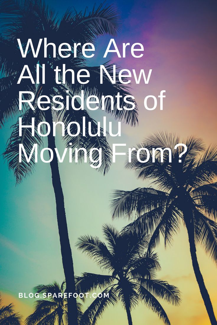 Living in Honolulu probably sounds like living in paradise to a lot of people. Apparently, people who already live in Hawaii are a little skeptical of that idea, though. First a little background. The population of metro Honolulu has stayed virtually steady recently. And almost all of those movers—93 percent—came from out of state, mostly from places that also have lots of sunshine and access to beaches. The other 7 percent, just 3,203 people, came from other places in Hawaii.