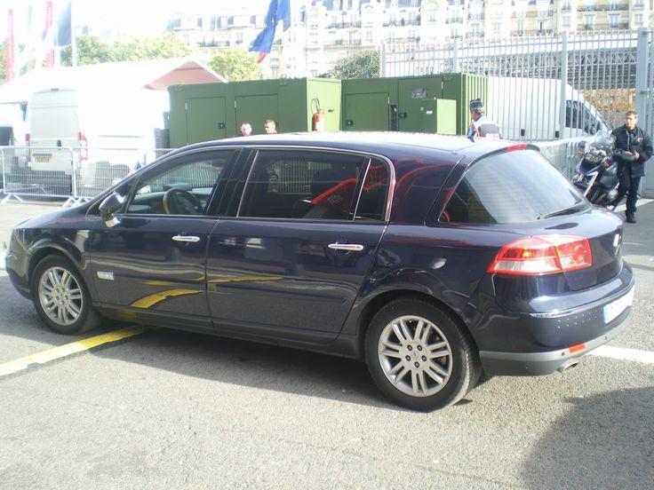 renault vel satis limousine presidentielle