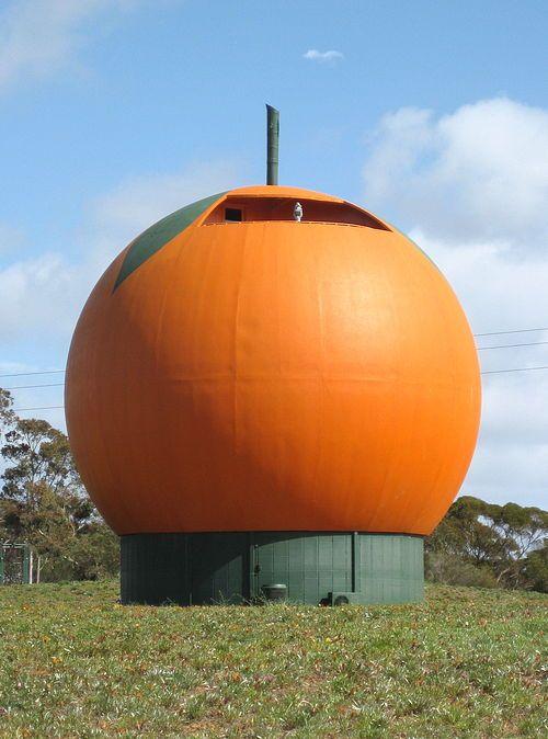 Big Orange.jpg • the big orange Berri • South Australia • aussie big things