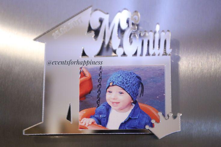 #1yaş magnetleri  #magnet #pleksiayna #pleksimagnet #1yasdogumgunu #1yas #kraltacı #kisiyeozel #konsept #fotografcercevesi #hediye #gift #bebek #itsaboy #instalike #like4like #eventsforhappiness #doğumgünü #dogumgunuorganizasyonu #blue #crown