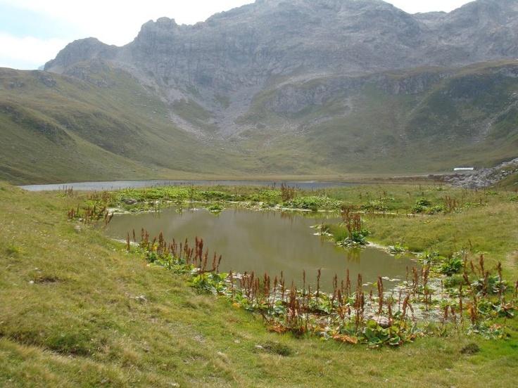 Plagne lake