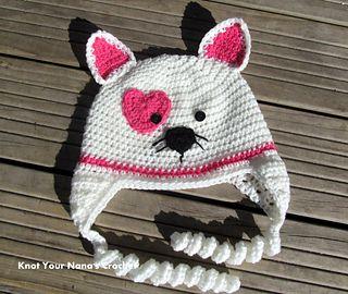 children's crochet earflap hat pattern