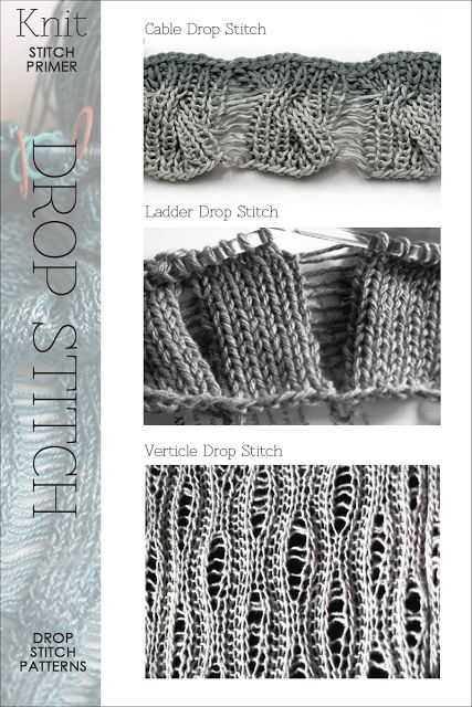 Drop Stitch Patterns