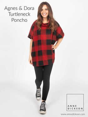 8712337b66675 Agnes and Dora Poncho Turtleneck #agnesanddora | Women's clothing ...