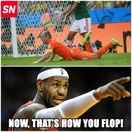 Just to make fun of LeBron and the Dutch.