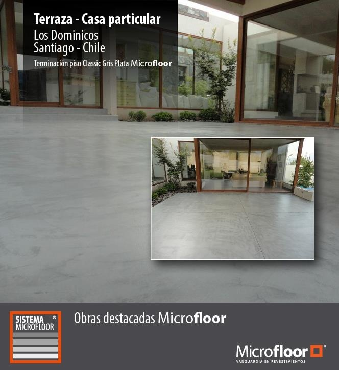 Terraza Pavimento - Revestimiento en microcemento Microfloor Línea Classic