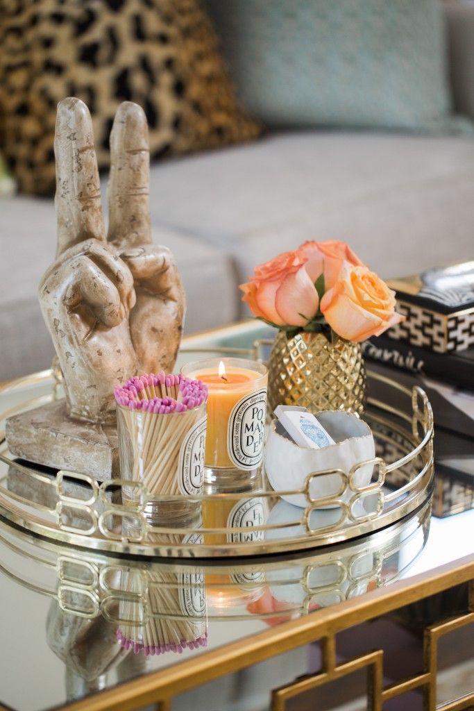 Best 25 Ottoman Tray Ideas On Pinterest Trays
