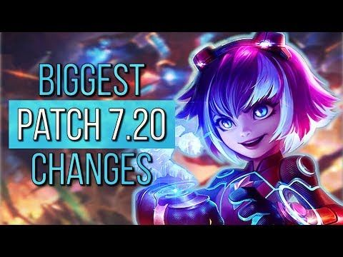 4 NEW SUPER GALAXY SKINS & EVELYNN REWORK! | BIG CHANGES | Patch 7.20 | League of Legends - YouTube