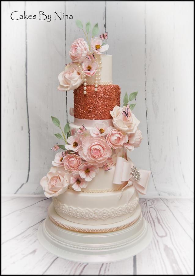Luann the english garden by Cakes by Nina Camberley - http://cakesdecor.com/cakes/277024-luann-the-english-garden