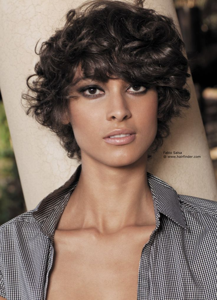 short hairstyles for curly hair girls - Short Hairstyles for Curly ...