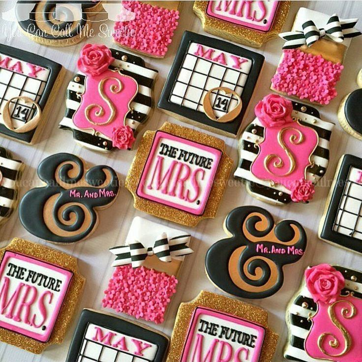Just wanted to add a lil' sweetness to your timeline and thought these custom cookies from @youcancallmesweetie would do the trick. Such a cute addition to any #bridalshower or #bacheloretteparty! (Via @theblackbachelorette) #bridetobe #cookies #customcookies #youcancallmemrs #tripleb #BlackBridalBliss