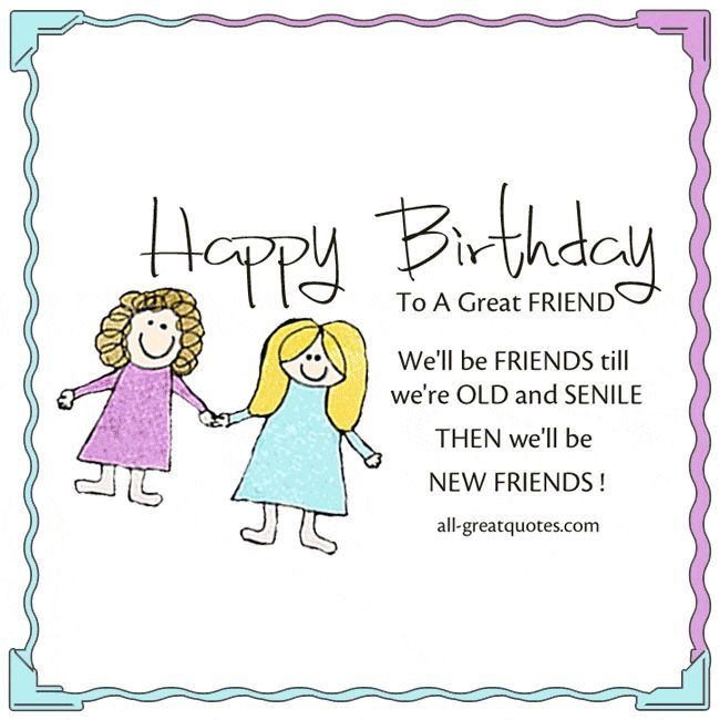 Happy Birthday Quotes For Friends Happy Birthday Quotes Friends Alles Gute In 2020 Happy Birthday Quotes For Friends Friend Birthday Quotes Birthday Quotes Funny
