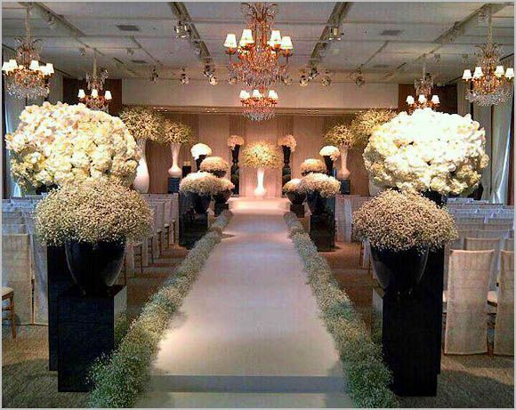Pin by shaadi bazaar on aisle for wedding wedding for Aisle decoration