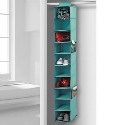 Studio 3B™ 10-Shelf Hanging Shoe Organizer - BedBathandBeyond.com - 14.99 - need one