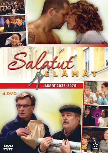Salatut Elämät - Box 11 DVD 14,95€