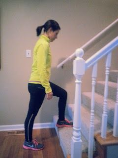 Go Fit Mom!: Kick Butt Stair Workout!  This is happening!  Finally a good one to do at home!