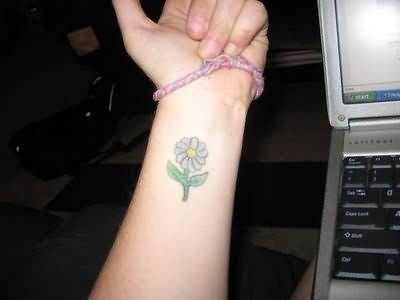 Daisy Tattoos | Tattoostime.com