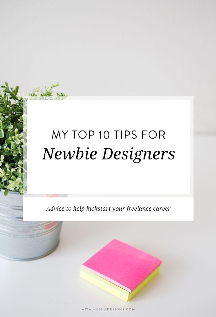 "@neshadesigns shares her ever-wise ""Top 10 Tips for Newbie Designers"": http://neshadesigns.com/blog/my-top-10-tips-for-newbie-designers"