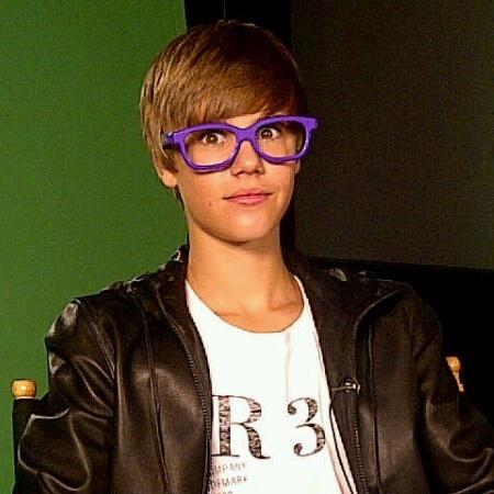Justin Bieber poses for PETA