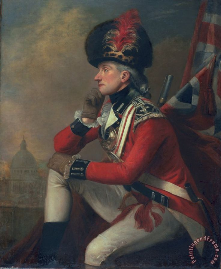 American Revolution Canvas Prints - A soldier called Major John Andre