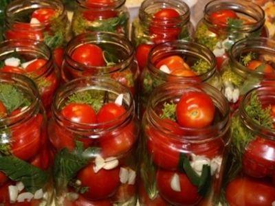 Засолить помидоры быстро