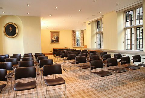 University College Oxford Conference Facilities - Swire Seminar Room. Theatre-style seating up to 50 Details at Univ.ox.ac.uk