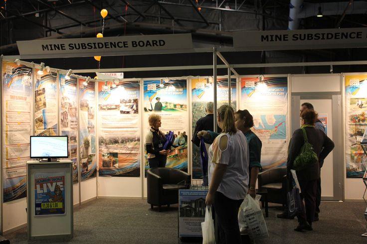 Mine Subsidence Board - 2013 Newcastle Home Show.