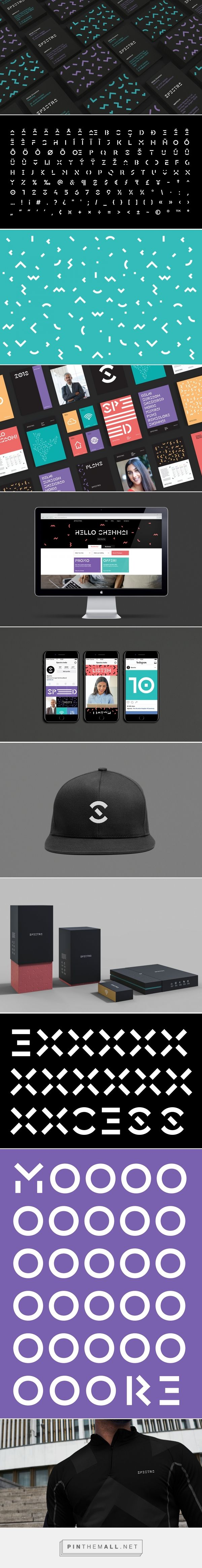 Spectra Broadband Service Provider Branding by Ryan Miglinczy | Fivestar Branding Agency – Design and Branding Agency & Curated Inspiration Gallery #designinspiration #design #branding #identity
