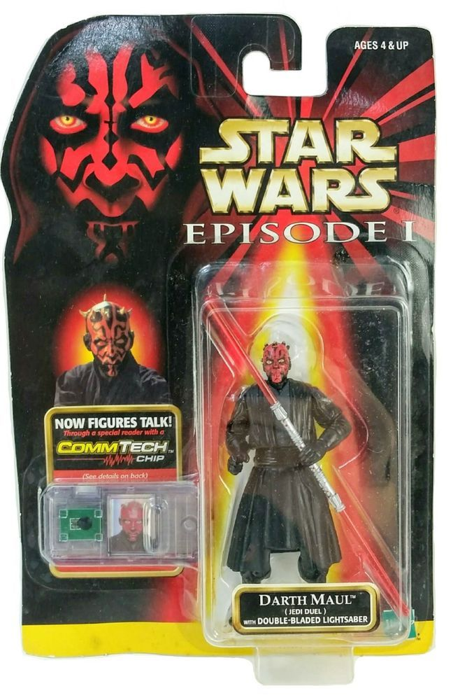 Star Wars Action figure Darth Vader Jedi EMPEROR Darth Maul CLONE TROOPER