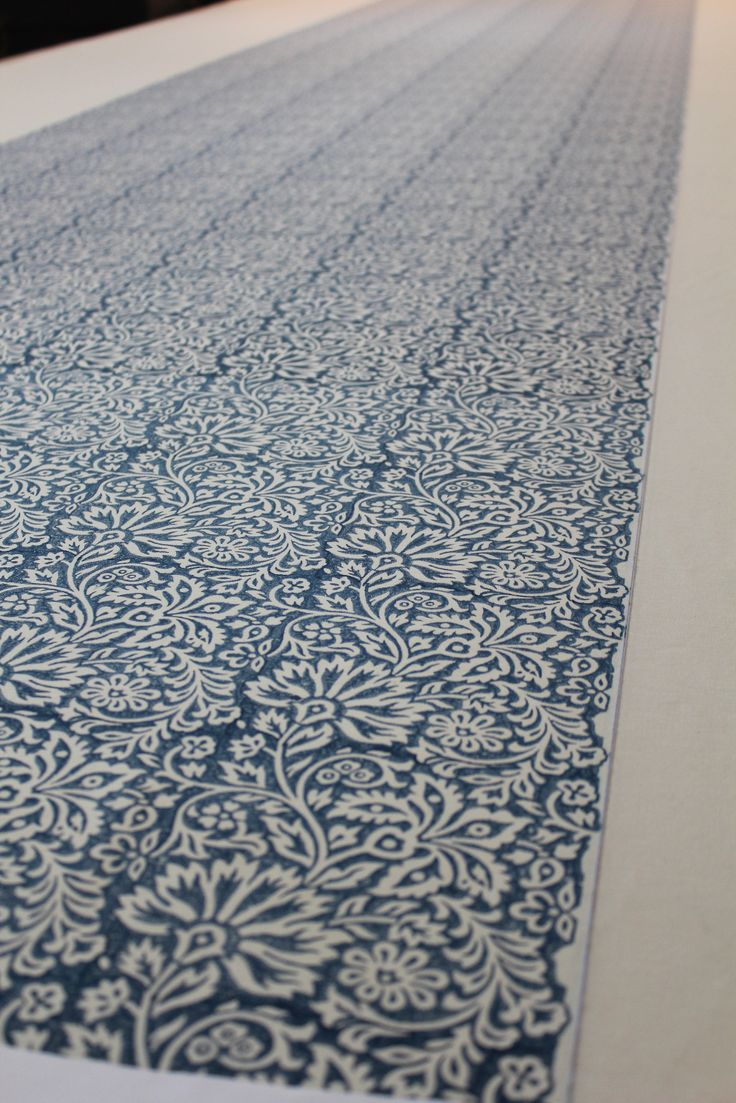 Flora-Indigo from the Artisan Collection by GP & J Baker.