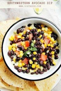 Southwestern Avocado Dip Recipe | Diethood