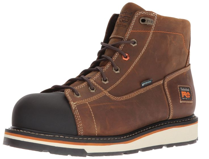 Timberland PRO Mens Gridworks Soft Toe Waterproof Industrial Boot Brown 11  M US >>>