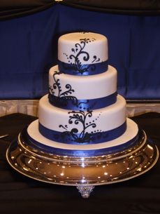 The Road to Happily Ever After: Elegant Royal Blue