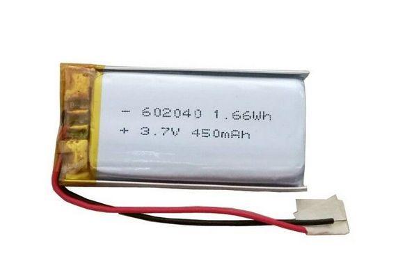 1s 3 7 V Lipo Battery 450mah 602040 Lithium Ion Polymer Batteries Lipo Battery Lipo Battery