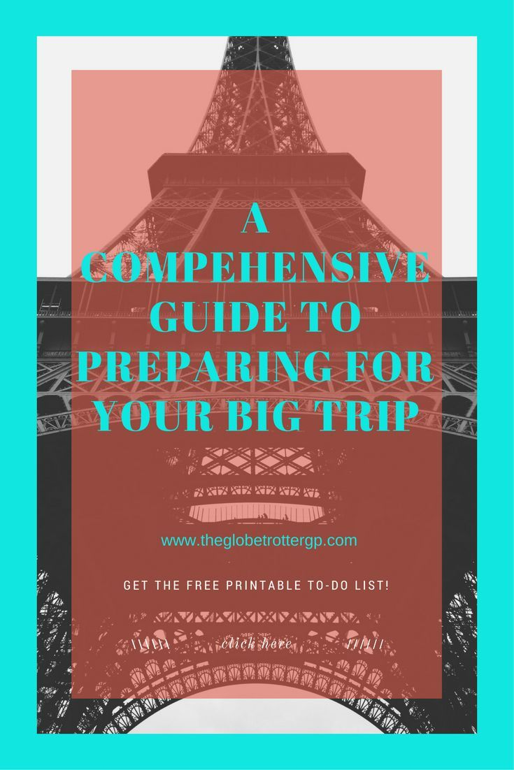 Visas, vaccinations, travel money cards, where to book... This is your comprehensive guide to preparing for your big trip! As an added BONUS, get my FREE printable TO-DO GUIDE so you don't miss a thing!